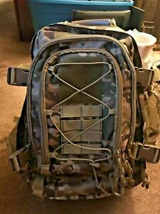 Authentic Military Tactical Backpack Rucksack Desert Camouflaged