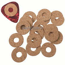 Mr.Power Standard Guitar Pick Grip Cork Sticked on Pick 20 Pack 18mm/0.7inch NEW
