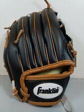 Franklin 22705 - 8 1/2 Inch Youth Tee Ball LH Glove Right Handed Thrower Black