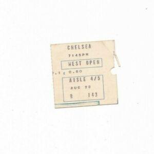 1972/73 CHELSEA v LIVERPOOL (Original Ticket)
