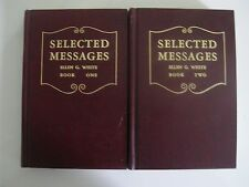 Selected Messages / Volume 1 & 2 / Ellen G White / SDA EGW Hard to find