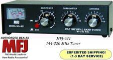 MFJ 921 Antenna Tuner, 144 MHZ & 220 MHZ, 200 Watts With Built-in SWR/Wattmeter