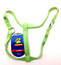 Top Paw Dog Pet Step In Harness Puppy Harnais Green Frog Extra Small Girth 14""