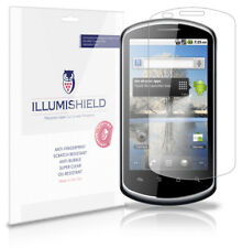 iLLumiShield Phone Screen Protector w Anti-Bubble/Print 3x for Huawei Ideos X5