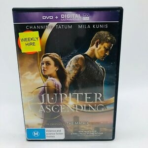 Jupiter Ascending (DVD, 2015) R4 With Channing Tatum In Very Good Condition