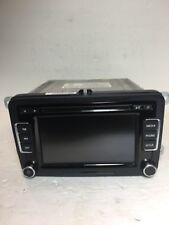VW RCD-510 Volkswagen Touchscreen Radio Media 6 Disc CD Player 1K0035180AF OEM