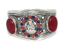 Jasper Bracelet Tribal Bracelet Silver Bracelet Tibetan Bracelet Boho Bracelet