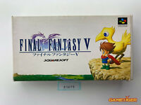 FINAL FANTASY V 5 Nintendo Super Famicom SFC JAPAN Ref:315275
