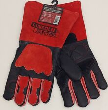 NEW Lincoln Electric KH962 Premium Welding Gloves  Black Red Leather
