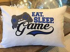 Video Gamer Pillow 12x18 lumbar gamer video boy teen teenager minecraft xbox