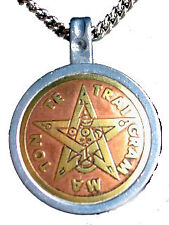 Tetragrammation Magical Star Talisman Amulet Pendant Necklace