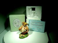 CHERISHED TEDDIES FIGURINE SYDNEY 107036 LOW REG#IIIC6/958 W/BOX/INSERTS/COA VTG