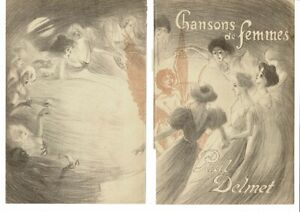 THEOPHILE STEINLEN ORIGINAL LITHOGRAPHIC POSTER 1897 LIMITED EDITION OF 50