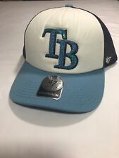 a6388211bbc Tampa Bay Rays WOMENS 47 Brand Sequin Bling Snapback Hat