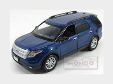 Ford Usa Explorer Xlt 2015 Blue Met MotorMax 1:18 MTM73186BL Model