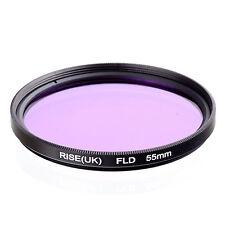 55mm FLD Fluorescent Light Correction Filter for Canon Nikon Sony Panasonic Fuji