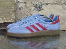 2004 Adidas Handball Spezial UK 8 Blue / Burgundy vintage spzl headstock new og