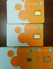 Brand New At&T Factory Micro 2G/4G Lte Att sim card