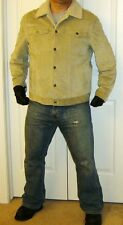 Gap Leather Shearling Suede Jean Jacket XL