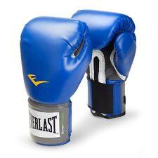 Everlast 2216 Pro Style Training Gloves (Blue, 16 oz.)