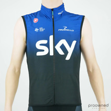 Castelli Pro Light Wind Vest - Team Sky