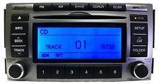 10 11 12 Hyundai SANTA FE Radio CD Disc Player MP3 MP 3 XM Satellite AUX Factory