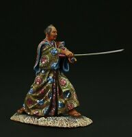 Tin soldier, Museum (TOP), Samurai with Daisho sword  54 mm, Feudal Japan
