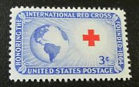 Scott#: 1016 - Red Cross Single Stamp MNH OG -- Free Shipping --
