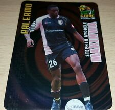 CARD CALCIATORI PANINI 2005-06 PALERMO MAKINWA CALCIO FOOTBALL SOCCER ALBUM