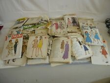 More details for job lot of clothing dressmaking patterns - sewing - homemade crafts
