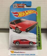 Lotus Esprit S1 #219 * RED * 2015 Hot Wheels * E1