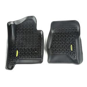 Fits Chevrolet Silverado 99-18 Black  Floor Liners Front  398290104