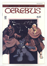 Cerebus the Aardvark #27 VFNM Autographed by Dave Sim - Super Bright