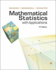 College math textbooks for sale ebay mathematical statistics with applications by richard l scheaffer william mendenhall and dennis wackerly fandeluxe Gallery