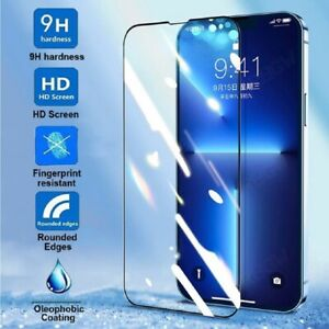 For iPhone 13 Mini Screen Protector REAL Glass Full Coverage Edge-to-Edge 5.4 in