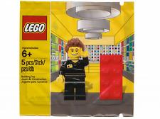 LEGO® Store employee / Mitarbeiter Minifigur Polybag 5001622  NEU / OVP / NEW