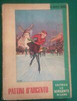 PATTINI D ARGENTO - M Dodge - La Sorgente MILANO 1953 ILLUSTRATORE BARATTI