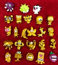 Moshi Monsters Toy Figure Bundle  Lot #6  Gold & Others