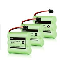 BT800 BT-905 3.6V Cordless Phone Battery, Uniden BT905 RadioShack 2302339 3 pack