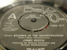 "Jimmy Ruffin - What Becomes Of The Broken Hearted 7"" Motown"