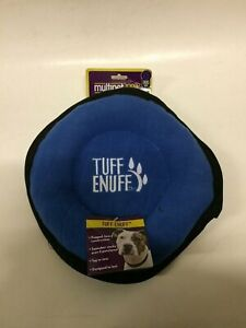 Tuff Enough Durable Disc Plush Dog Toy