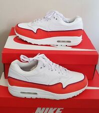 """NEW AUTHENTIC  WOMEN'S AIR MAX 1 SE """" DOUBLE LAYER RED"""" US 7.5"""
