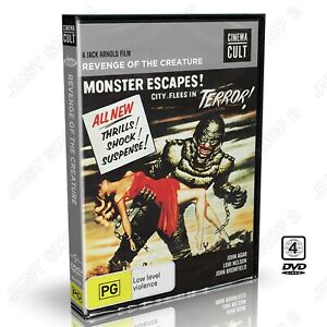 Revenge Of The Creature DVD : (1955) Original Horror / Sc-Fi Movie : Brand New