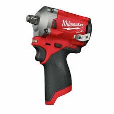 """Juego pequeño unidades Milwaukee 2555-20 M12 1/2"""" Llave de impacto herramienta desnudo"""