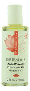 Derma E Anti-Wrinkle Treatment Oil 2 oz 60 ml. Skin Treatment