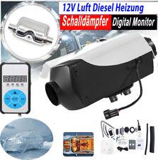 12V Diesel Standheizung Luftheizung 5KW Air Heater Heizung LKW Schalldämpfer DHL