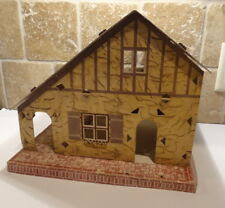 1930s ? PLAY-TIME DOLL HOUSE Cardboard Easy to Build-LAFAYETTE INDIANA