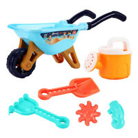 1Set Beach Sand Toys Watering Can 2pcs Sand Molds for Kids Toddlers Reusable
