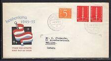 Netherlands #367 1955 FDC Liberation a794