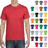 Gildan DryBlend 50/50 T Shirt Mens Short Sleeve Solid Plain Tee S-3XL - 8000